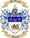 Mac Vaugh Family Crest from Ireland