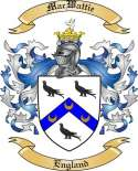 Mac Wattie Family Coat of Arms from England