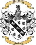 Mac Watty Family Crest from Ireland
