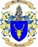 Mac Whinney Family Coat of Arms from Scotland