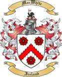Mac White Family Crest from Ireland