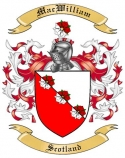 Mac William Family Crest from Scotland