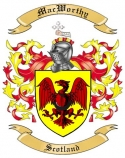 Mac Worthy Family Coat of Arms from Scotland