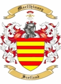 Mac llhinney Family Crest from Scotland