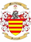 Mac llhinny Family Crest from Scotland