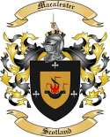Macalester Family Crest from Scotland