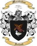 Macavadan Family Crest from Ireland