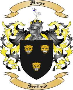 Magee Family Coat of Arms from Scotland