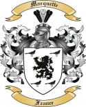 Marquette Family Coat of Arms from France3