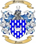 Marquette Family Coat of Arms from France