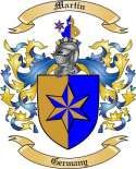 Martin Family Coat of Arms from Germany2