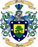 Martin Family Coat of Arms from Spain2