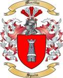 Martin Family Coat of Arms from Spain