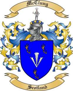 McClung Family Coat of Arms from Scotland