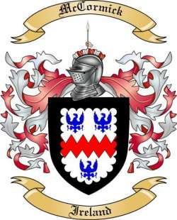 McCormick Family Coat of Arms from Ireland
