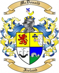 McDonald Family Coat of Arms from Ireland