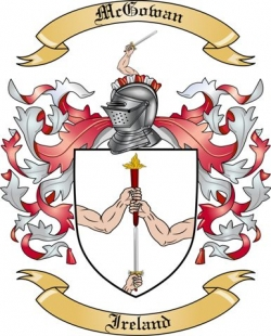 McGowan Family Coat of Arms from Ireland