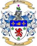 McGowan Family Coat of Arms from Scotland