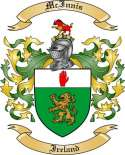 McInnis Family Coat of Arms from Ireland