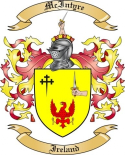 McIntyre Family Coat of Arms from Ireland
