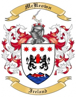 Mckeown Family Crest From Ireland By The Tree Maker