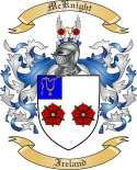 McKnight Family Coat of Arms from Ireland