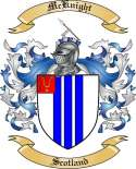 McKnight Family Coat of Arms from Scotland