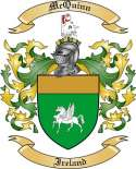 McQuinn Family Coat of Arms from Ireland