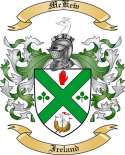 Mc Kew Family Coat of Arms from Ireland