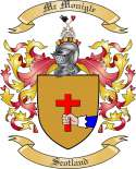 Mc Monigle Family Coat of Arms from Scotland
