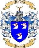 Mc Quat Family Coat of Arms from Scotland