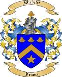 Michelet Family Coat of Arms from France