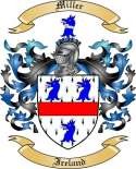 Miller Family Coat of Arms from Ireland