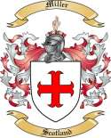 Miller Family Coat of Arms from Scotland2