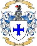 Miller Family Coat of Arms from Scotland