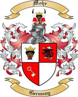 Mohr Family Coat of Arms from Germany