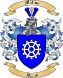 Molina Family Crest from Spain