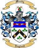 Moody Family Coat of Arms from England