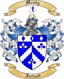 Moody Family Coat of Arms from Ireland