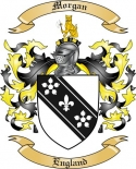 Morgan Family Coat of Arms from England