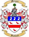 Morgan Family Coat of Arms from Scotland