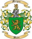 Morgan Family Coat of Arms from Wales2