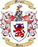 Morgan Family Coat of Arms from Wales