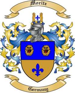 Moritz Family Coat of Arms from Germany