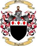 Mullins Family Coat of Arms from England