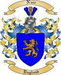 Nace Family Crest from England