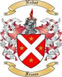 Nadot Family Coat of Arms from France