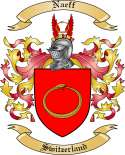 Naeff Family Crest from Switzerland