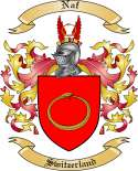 Naf Family Coat of Arms from Switzerland