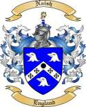 Naish Family Coat of Arms from England